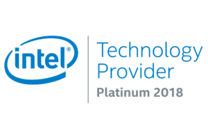Intel Sirius Platinum Partner badge