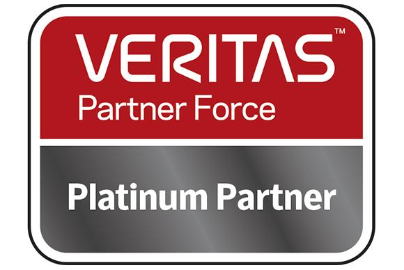 Veritas platinum partner logo