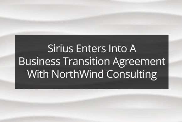 Sirius Computer Solutions Enters Into A Business Transition