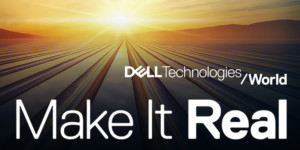 Dell Technologies World 2018 logo Make It Real.