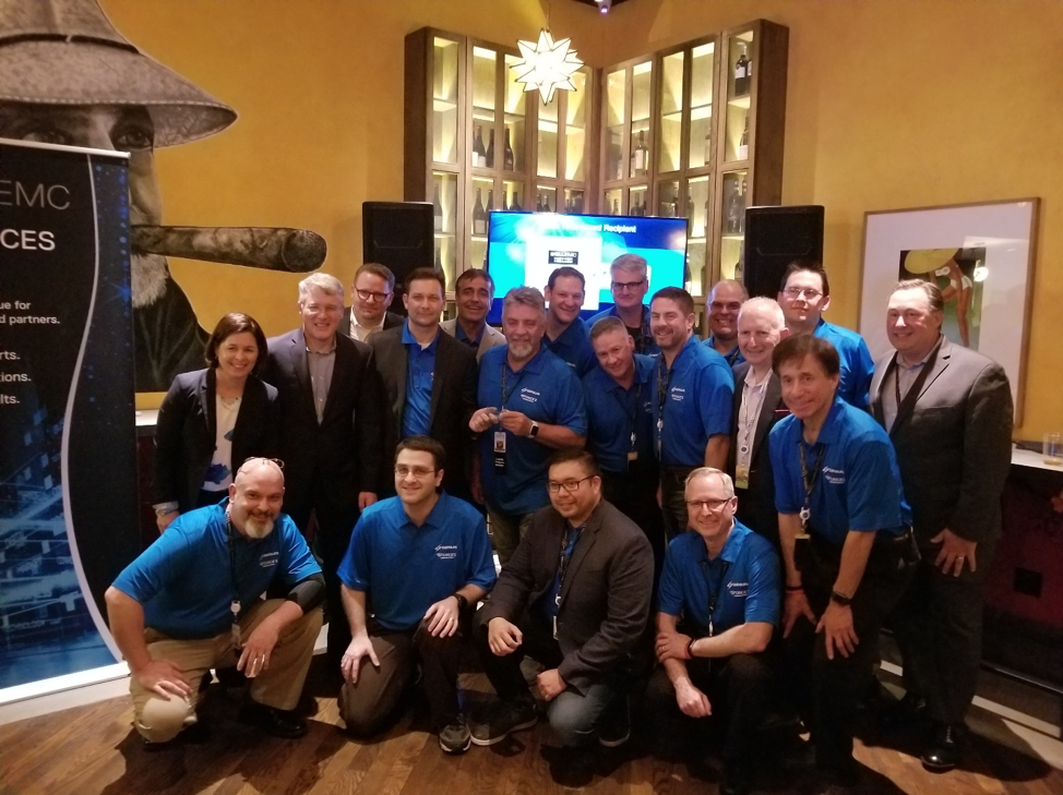 Sirius engineers and executive leaders at Dell Technologies World 2018.