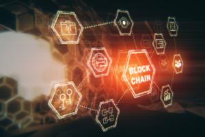 blockchain illustration for Sirius