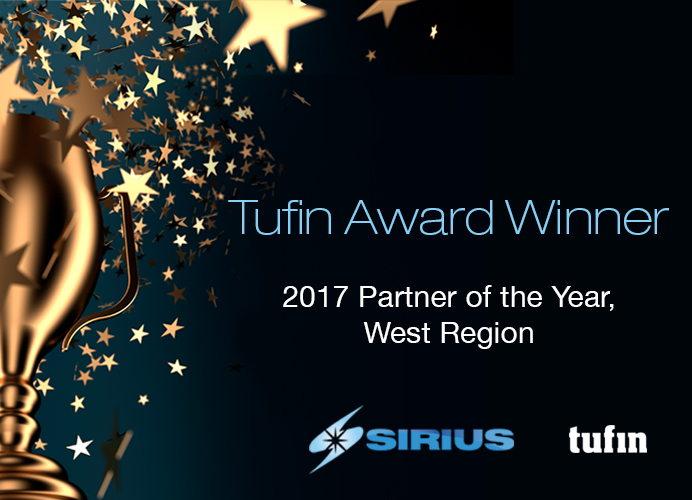Sirius Tufin Partner of the Year 2017