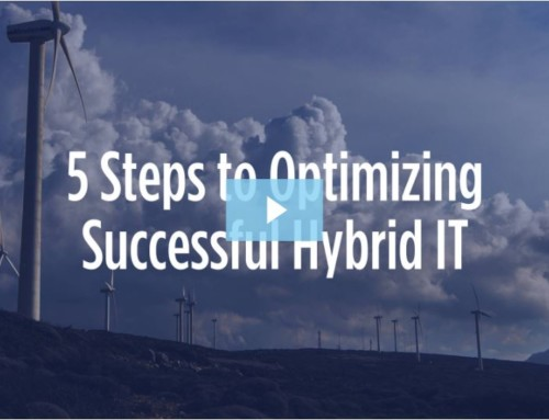 Recorded Webinar: 5 Steps to Building Successful Hybrid IT