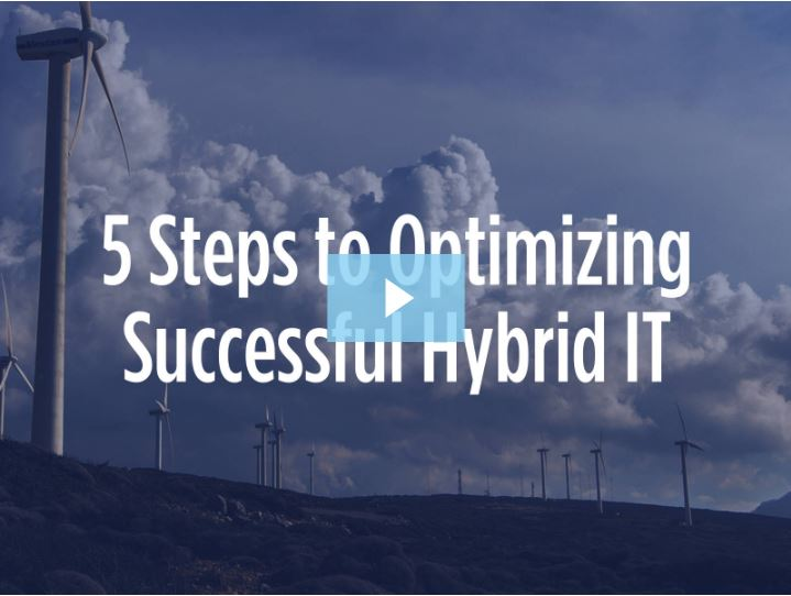 5 Steps to Successful Hybrid IT Webinar