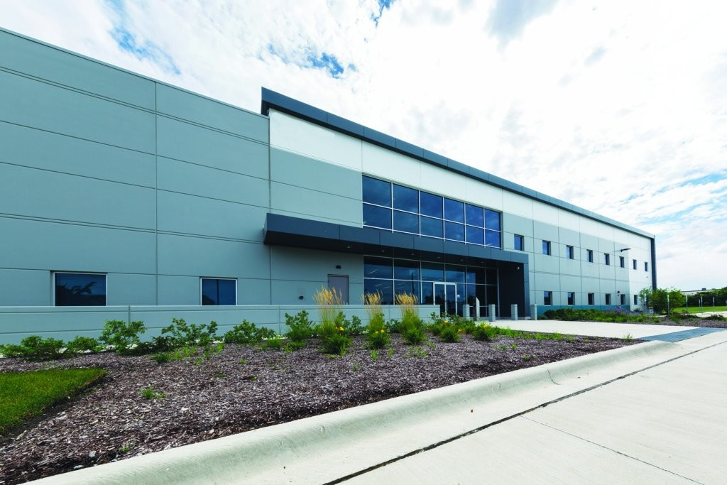 Exterior of Sirius Data Center