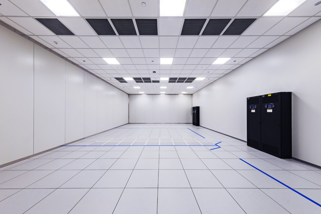 Private data center client suite in Sirius Data Centers, 1,000 sq. ft.