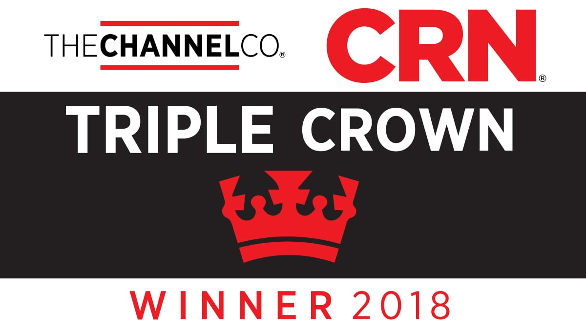 Sirius CRN Triple Crown 2018 award logo