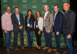 Sirius Wins at Cisco Partner Summit Awards
