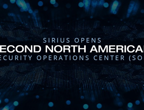 Sirius Opens Second North American Security Operations Center (SOC)