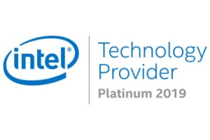 Intel Platinum Partner logo for Sirius