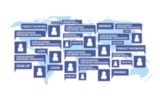 IAM Identity Access Management illustration