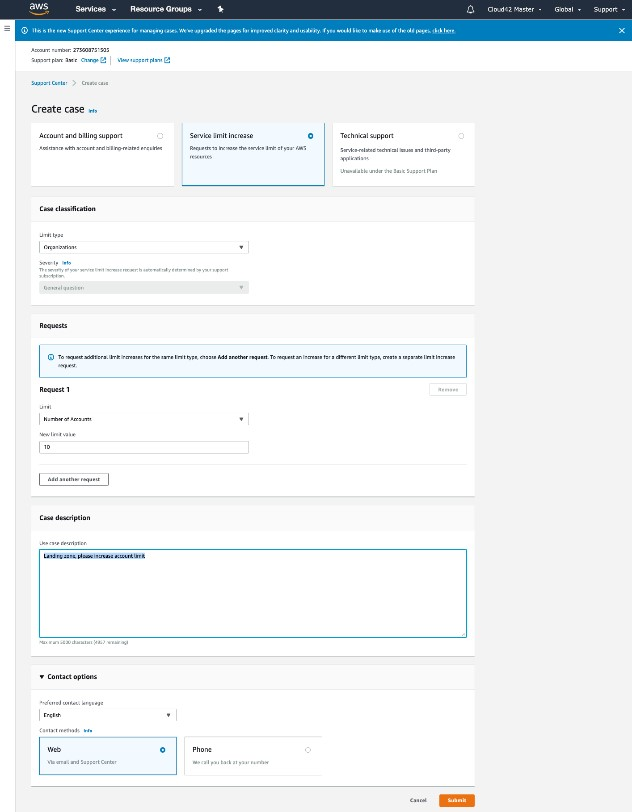 Your AWS Cloud Journey: Step One – Initial Set Up & Org