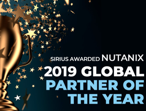 Sirius Named Global Partner of the Year at Nutanix .NEXT Anaheim 2019