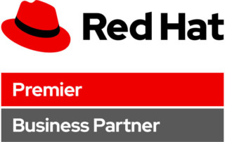 Sirius red hat premier business partner logo