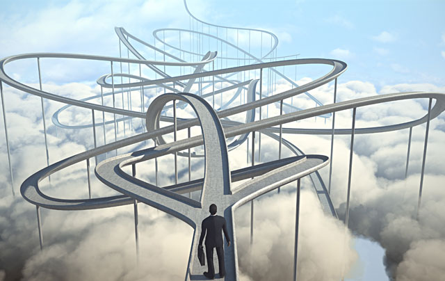 cloud solution provider selection illustration
