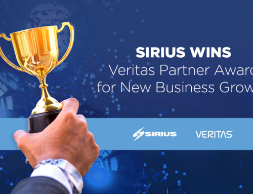 Sirius Wins Veritas Partner Award for New Business Growth