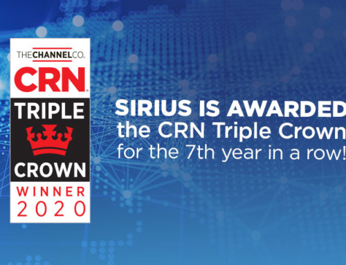 Sirius Wins CRN Triple Crown for the Seventh Year