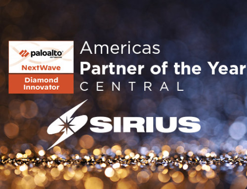 Sirius Awarded the Palo Alto Networks Americas Partner of the Year, Central for 2020