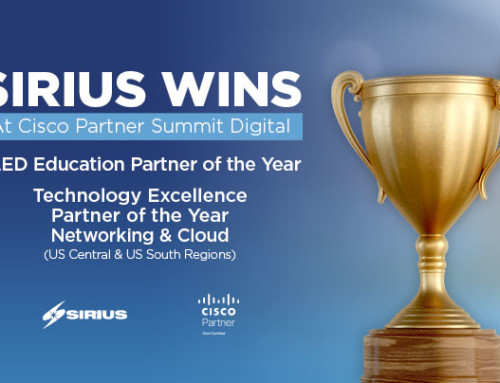 Sirius Takes Home Three Awards at Cisco's Partner Summit Digital 2020