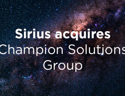 Sirius Acquires Champion Solutions Group and MessageOps
