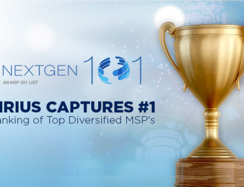 Sirius Captures No. 1 Ranking of Top Diversified Managed Services Providers