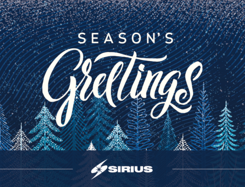 Happy Holidays from Sirius!