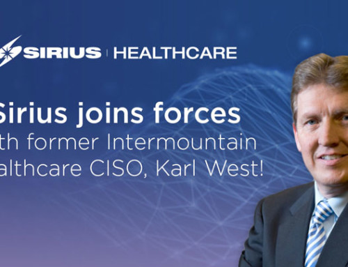 Sirius Joins Forces with Former Intermountain Healthcare CISO