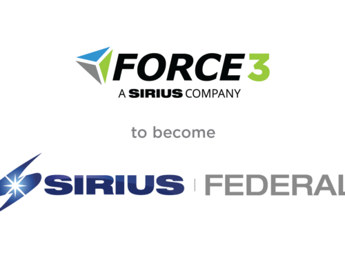Force 3 Is Becoming Sirius Federal
