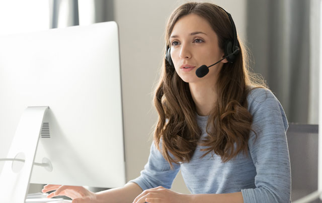 cloud based Contact Center representative