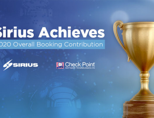 Sirius Named by Check Point for Overall Booking Contribution