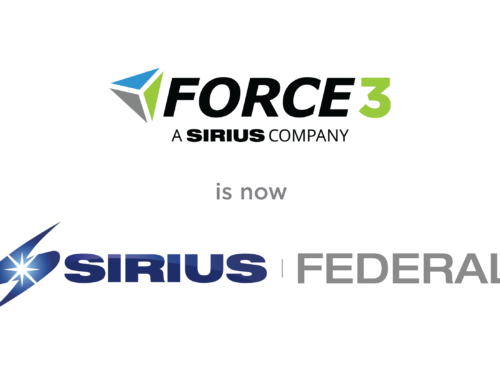 Force 3 is Now Sirius Federal