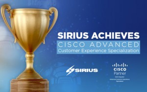 Illustration of Cisco Advanced Customer Experience Specialization award
