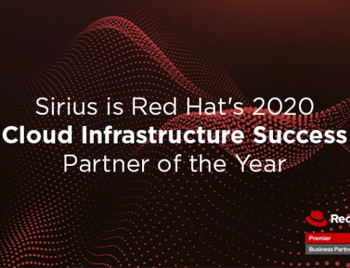 Sirius Named North American Cloud Infrastructure Success Partner of the Year by Red Hat