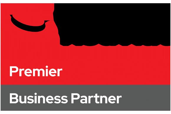 Red Hat Premier Business Partner logo